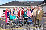 Currow Cycling Clubs are inviting cyclists to take part in a fun cycle for all ages in September all in aid of Castleisland Day Care Centre. <br /> Front L-R Liz Twomey, Joan Fitzgerald, Mary O'Connell, Marie Hartnett, Peg Hogan, Steve Key, James Lyons and Michael Daly. <br /> Back L-R Monica Prendervile, Mary Daly, Sr Maureen Kane, John Pender, Dan Lucy, Timmy and Pat O'Mahony and John Breen.
