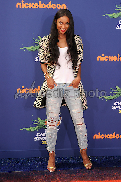 16 July 2015 - Westwood, California - Ciara. Nickelodeon Kids Choice Sports Awards 2015 held at the UCLA Pauley Pavilion. Photo Credit: Byron Purvis/AdMedia