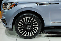 NEW YORK, NY - APRIL 12: Lincoln Navigator sits on display at the New York International Auto Show, at the Jacob K. Javits Convention Center on April 12, 2017 in Manhattan, New York. Photo by VIEWpress/Eduardo MunozAlvarez