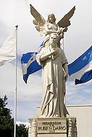 The Monumento a Ruben Dario in downtown Managua, Nicaragua