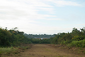 Aldeia Baú, Para State, Brazil. Amazon landing strip.