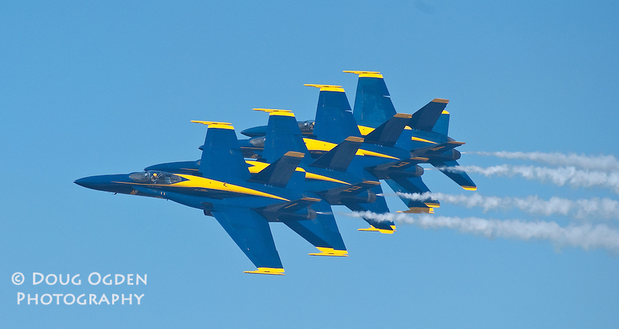 Blue Angels during Air Show, Elmendorf AFB, Anchorage AK 2004