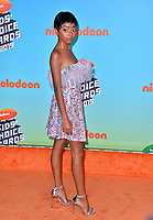 LOS ANGELES, CA. March 23, 2019: Skai Jackson at Nickelodeon's Kids' Choice Awards 2019 at USC's Galen Center.<br /> Picture: Paul Smith/Featureflash