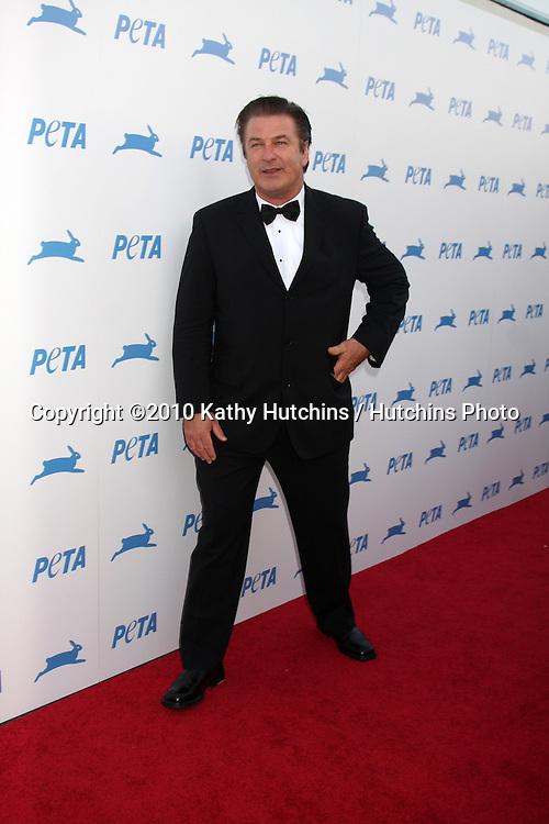 LOS ANGELES - SEP 25:  Alec Baldwin arrives at the PETA 30th Anniversary Gala at Hollywood Palladium on September 25, 2010 in Los Angeles, CA
