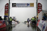 a rain-soaked Col de Joux Plane (HC/1691m/11.6km/8.5%) is waiting for the riders<br /> <br /> Stage 20: Meg&egrave;ve &rsaquo; Morzine (146.5km)<br /> 103rd Tour de France 2016