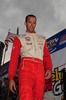 May 31, 2008; Dover, DE, USA; Nascar Nationwide Series driver J.C. Stout during the Heluva Good 200 at the Dover International Speedway. Mandatory Credit: Mark J. Rebilas-