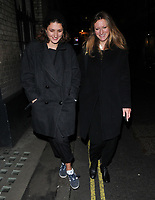 Daisy Bevan and guest at the Laura Bailey x Zanzan cocktail party, Alex Eagle, Lexington Street, London, England, UK, on Thursday 09 November 2017.<br /> CAP/CAN<br /> &copy;CAN/Capital Pictures