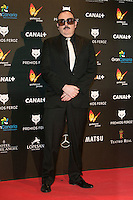 Carlos Areces attends the Feroz Cinema Awards 2015 at Las Ventas, Madrid,  Spain. January 25, 2015.(ALTERPHOTOS/)Carlos Dafonte) /NortePhoto<br /> <br /> nortePhoto.com