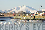 Winter scene at the Basin in Tralee during the coldest weather in Kerry for years