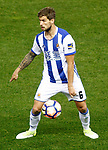 Real Sociedad's Inigo Martinez during La Liga match. April 4,2017. (ALTERPHOTOS/Acero)