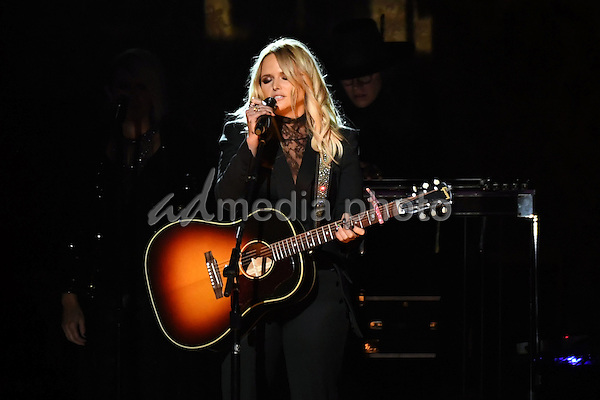 02 November 2016 - Nashville, Tennessee - Miranda Lambert. 50th Annual CMA Awards. Then. Now. Forever Country. 2016 CMA Awards, Country Music's Biggest Night, held at Bridgestone Arena. Photo Credit: Laura Farr/AdMedia