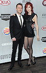 Chris Hardwick and Chloe Dykstra arriving at Spike TV's Guys Choice 2014 held at The Sony Pictures Studios Los Angeles, CA. June 7, 2014.