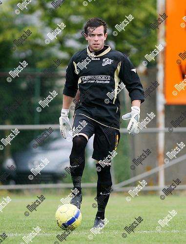 2010-07-31 / Seizoen 2010-2011 / Voetbal / Zandvliet Sport / Jelle Daeleman..Foto: mpics