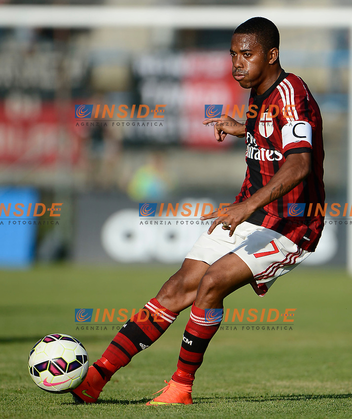 Robinho Milan<br /> Solbiate Arno 16-07-2014 Stadio Felice Chinetti - Football 2014/2015 amichevole. Milan - Renate Foto Giuseppe Celeste / Insidefoto