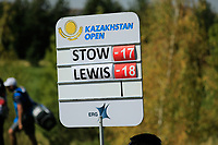 Ben Stow (ENG) during the final round of the Kazakhstan Open presented by ERG played at Zhailjau Golf Resort, Almaty, Kazakhstan. 16/09/2018<br /> Picture: Golffile | Phil Inglis<br /> <br /> All photo usage must carry mandatory copyright credit (© Golffile | Phil Inglis)