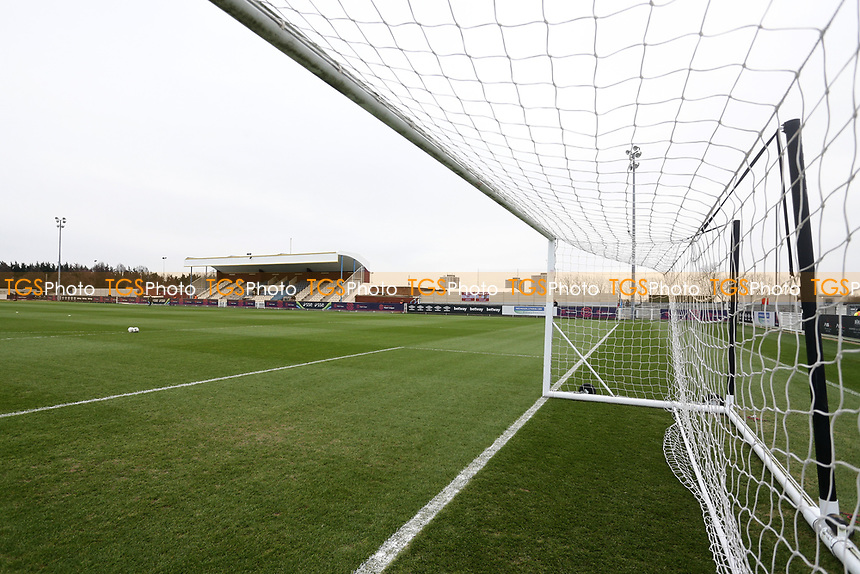 General view of the ground during West Ham United Women vs Arsenal Women, FA Women's Super League Football at Rush Green Stadium on 6th January 2019