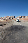 Utah, accident scene, Interstate-70, San Rafael Swell, March, USA,