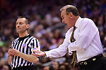 COLUMBUS, OH - APRIL 1: Mississippi State Bulldogs head coach Vic Schaefer shouts to his team as they play against Notre Dame during the championship game of the 2018 NCAA Division I Women's Basketball Final Four at Nationwide Arena in Columbus, Ohio. (Photo by Justin Tafoya/NCAA Photos via Getty Images)