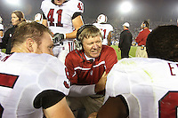 1 October 2006: Dave Tipton during Stanford's 31-0 loss to UCLA at the Rose Bowl in Pasadena, CA.
