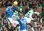 Bruno Alves lands awkardly and has to leave the action