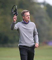 Luke Donald (ENG) completes the Final Round of the British Masters 2015 supported by SkySports played on the Marquess Course at Woburn Golf Club, Little Brickhill, Milton Keynes, England.  11/10/2015. Picture: Golffile | David Lloyd<br /> <br /> All photos usage must carry mandatory copyright credit (© Golffile | David Lloyd)
