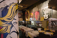 "Europe/Allemagne/Bade-Würrtemberg/Heidelberg: Bar - Restaurant ""Pop"" Untere Str - Salle à manger"