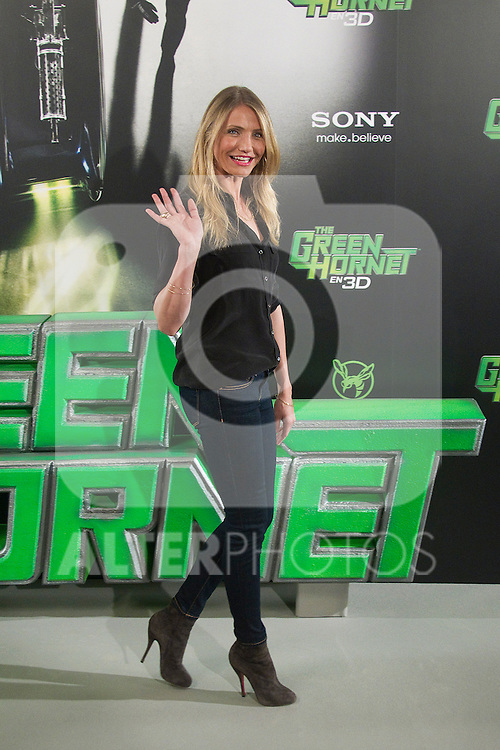 Cameron attends 'The Green Hornet' photocall at Hotel Villamagna in Madrid on december 2nd, 2010 in Madrid...Photo. Cesar Cebolla / ALFAQUI