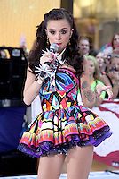 August 30, 2012: Cher Lloyd performs on the Today Show Toyota Concert Series in New York City...© RW/MediaPunch Inc. /NortePhoto.com<br />