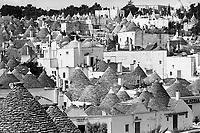 - Apulia,  Alberobello, the town of trulli, typical houses<br /> <br /> - Puglia, Alberobello, il paese dei trulli, abitazioni tipiche