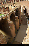 Equestrian Level Seating Vaults (Oldest Vaults in Roman Architecture) Colosseum Rome