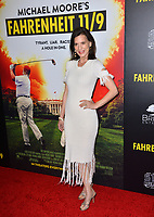 LOS ANGELES, CA. September 19, 2018: Perrey Reeves at the Los Angeles premiere for Michael Moore's &quot;Fahrenheit 11/9&quot; at the Samuel Goldwyn Theatre.<br /> Picture: Paul Smith/Featureflash