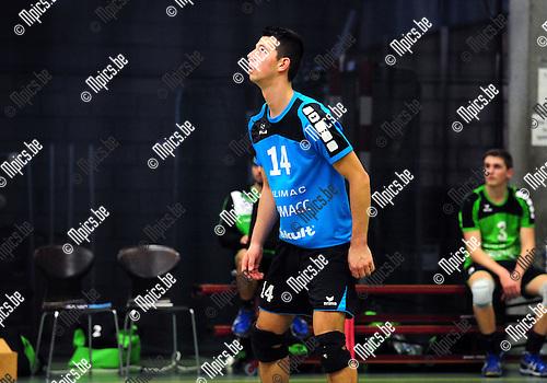 2014-11-29 / Volleybal / seizoen 2014-2015 / Mendo Booischot / Marijn Claes<br /><br /><br />Foto: mpics.be