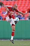 July 1 2007:  Danny Dichio of Toronto FC traps the ball in the air.  The MLS Kansas City Wizards tied the visiting Toronto FC 1-1 at Arrowhead Stadium in Kansas City, Missouri, in a regular season league soccer match.
