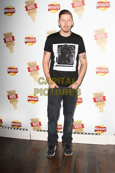 LONDON, ENGLAND - JULY 28: Professor Green attends the Walkers 'Do Us A Flavour' launch party at Paramount, Centre Point on July 28, 2014 in London, England<br /> CAP/ROS<br /> &copy;Steve Ross/Capital Pictures