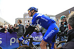 Philippe Gilbert (BEL) Deceuninck-Quick Step ready for the start of the 2019 Gent-Wevelgem in Flanders Fields running 252km from Deinze to Wevelgem, Belgium. 31st March 2019.<br /> Picture: Eoin Clarke | Cyclefile<br /> <br /> All photos usage must carry mandatory copyright credit (© Cyclefile | Eoin Clarke)