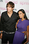 "HOLLYWOOD, CA. - August 03: Ashton Kutcher and Demi Moore arrive at the Los Angeles premiere of ""Spread"" at the ArcLight Hollywood on August 3, 2009 in Hollywood, California."