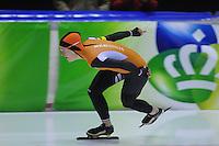 SCHAATSEN: HEERENVEEN: 01-02-2014, IJsstadion Thialf, Olympische testwedstrijd, Ireen Wust, ©foto Martin de Jong