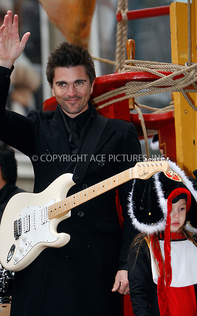 WWW.ACEPIXS.COM . . . . .  ....November 25 2010, New York City....Singer Juanes at the 84th Macy's Thanksgiving Day Parade on November 25, 2010 in New York City.....Please byline: NANCY RIVERA- ACEPIXS.COM.... *** ***..Ace Pictures, Inc:  ..Tel: 646 769 0430..e-mail: info@acepixs.com..web: http://www.acepixs.com