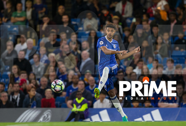 Jake Clarke Salter of Chelsea in action during the EPL2 - U23 - Premier League 2 match between Chelsea and Arsenal at Stamford Bridge, London, England on 23 September 2016. Photo by Andy Rowland.