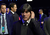 Bundestrainer Joachim Loew (Deutschland Germany) - 30.11.2019: UEFA EURO2020 Auslosung, Romexpo Bukarest, DISCLAIMER: UEFA regulations prohibit any use of photographs as image sequences and/or quasi-video.