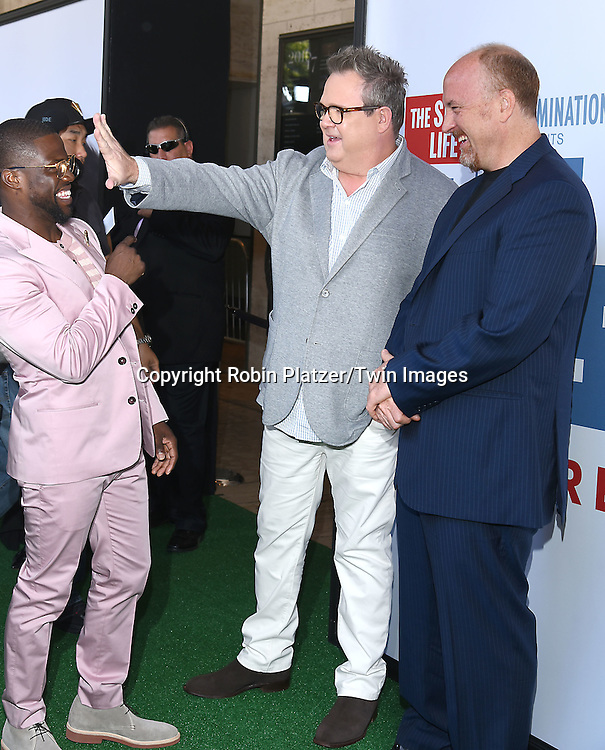 Kevin Hart, Eric Stonestreet and Louis C.K. attend the New York Premiere of &quot;The Secret Life of Pets&quot; on June 25, 2016 at David H Koch Theater at Lincoln Center in New York, New York, USA. <br /> <br /> photo by Robin Platzer/Twin Images<br />  <br /> phone number 212-935-0770