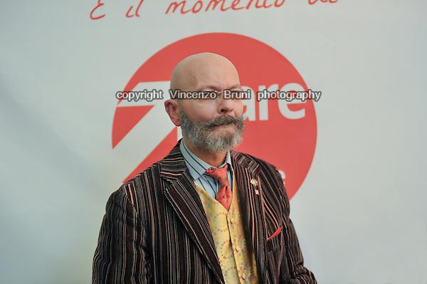 """Oscar Giannino, Italian journalist and former leader of the political movement """"Fare per fermare il declino""""."""