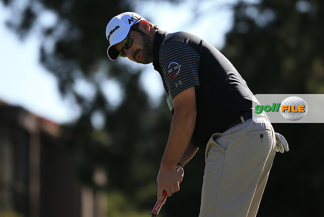 David Dixon (ENG) during the recommencement of Round Three of the 2016 BMW SA Open hosted by City of Ekurhuleni, played at the Glendower Golf Club, Gauteng, Johannesburg, South Africa.  10/01/2016. Picture: Golffile | David Lloyd<br /> <br /> All photos usage must carry mandatory copyright credit (&copy; Golffile | David Lloyd)