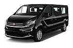 2018 Fiat Talento-Combi Panorama Door Passenger Van Angular Front stock photos of front three quarter view