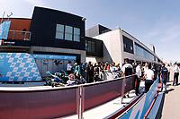 Paddock during  Gran Prix Movistar the Aragón. 22-09-2018  September 22, 2018.