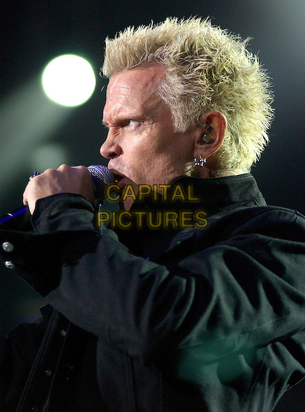 BILLY IDOL.The KROQ Miller Lite Inland Invasion 4 held at The Hyundai Pavilion at Glen Helen Devore, California .September 18, 2004.stage, concert, music, live, gig, headshot, portait, singing.www.capitalpictures.com.sales@capitalpictures.com.Copyright by Debbie VanStory