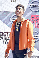 LOS ANGELES, CA - JUNE 26: Desiigner at the 2016 BET Awards at the Microsoft Theater on June 26, 2016 in Los Angeles, California. Credit: Koi Sojer/MediaPunch