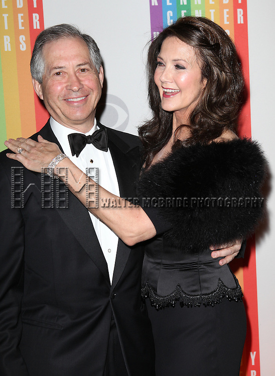 Robert A. Altman & Lynda Carter attending the 35th Kennedy Center Honors at Kennedy Center in Washington, D.C. on December 2, 2012