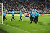 VOETBAL: HEERENVEEN: Abe Lenstra Stadion, 15-09-2012, Geld inzamelingsactie damesteam SC Heerenveen, ©foto Martin de Jong