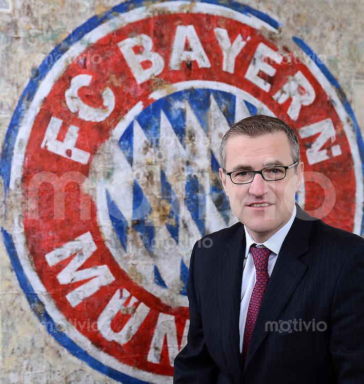 FUSSBALL 1. BUNDESLIGA  2012/2013  SAISON  2012/2013   27.02.2013 Finanzvorstand Jan-Christian Dreesen (FC  Bayern Muenchen)